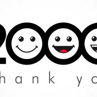 2,000 – Thank You!