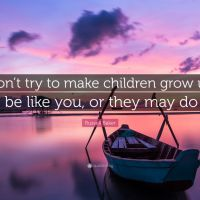 Be the parent your child needs...